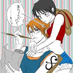 Genderbent Nami x Luffy