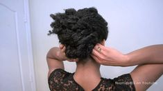 "Easy Textured Elegant Formal Updo | Prom Wedding ""Natural Hair"" (+playlist)"