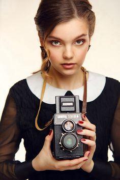 макияж для фотосессии в ретро стиле