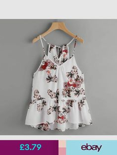bff4ca3a323 Feitong Crop Top bustier Sexy Strap Double Chiffon blouse Body feminino  Brandy Women 2018 Summer Casual Floral Printed shirt