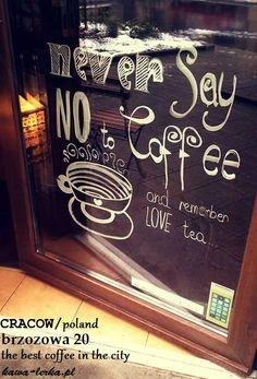 Always open door for you. the best coffee in cracow! brzozowa 20 - KawaLerka https://www.facebook.com/Kawalerka-1460346290884277/