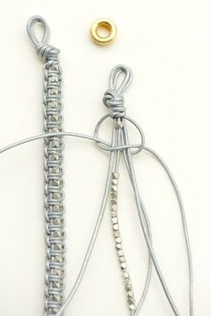 Braided Jewellery with Pearls   Artistic Jewellery Concepts #braided #creative #ideas #jewelry #pearls