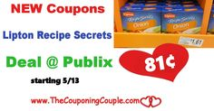 Lipton Recipe Secrets Only $0.81 @ Publix starting 5/13. Get your coupons ready for this upcoming deal on one of our favorite recipe products!  Click the link below to get all of the details ► http://www.thecouponingcouple.com/lipton-recipe-secrets-only-0-81-publix-starting-513/ #Coupons #Couponing #CouponCommunity  Visit us at http://www.thecouponingcouple.com for more great posts!