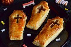 Cercueils façon Pop tarts pour Halloween, des chaussons feuilletés garnis de confiture super facile à faire et gourmand. Une chouette recette d'Halloween !