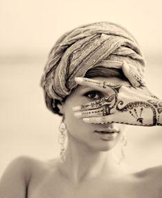 Desert woman.