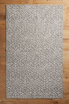 Open Scroll Rug #anthropologie