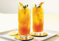 Take a break from shopping and head on to Chili's for this amazing Mango Iced Tea.