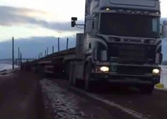 According to the video's description, this is the longest truck, however, we've seen longer road trains.