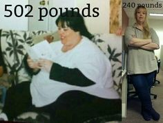 Meet a reader who lost over 260 pounds!