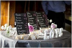 Love reception table by Vanessa Fry Photography