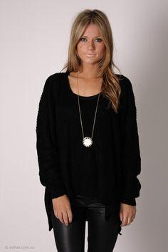 sorrow knit - black