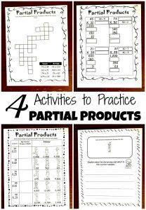 Partial products is a great way to use expanded form and place value to help children multiply two - digit, three digit, or four digit numbers successfully. 4th Grade Activities, 5th Grade Math, Teaching Multiplication, Maths, Partial Product Multiplication, Expanded Form, 5th Grades, Division, Geometry