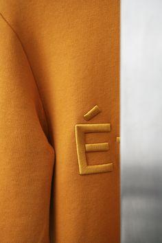 Internet Explorers: etudes-studio: Études Paris Store 14 r. Etudes Studio, Mustard Fashion, Paris Store, Paris 3, Active Wear, Badge Logo, Mens Activewear, Fashion Branding, Clothing Branding