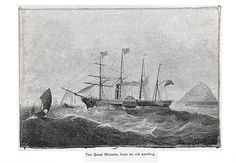 The Great Western, one of Isambard Kingdom Brunel's masterpieces Isambard Kingdom Brunel, Great Western, Titanic, Sailing Ships, Westerns, Past, Ocean, Board, Engineer