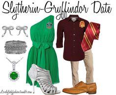 Slytherin-Gryffindor Date