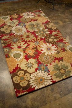 Jaipur Rugs Blossom in Red Visit http://gicor.ca/ for more