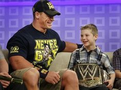 Meeting WWE Star John Cena | Community Post: 17 Wishes The Make-A-Wish Foundation Has Granted This Year