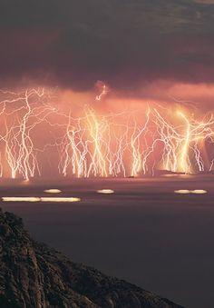 ikaria island lightning