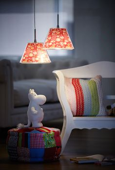 Moomin hanging lamps
