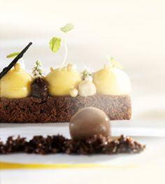 Brownie, zucca e vaniglia - Callebaut