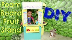 DIY Lea Clark's Fruit Stand Foam board