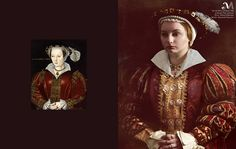 """The Six Wives of Henry VIII"" is the second part of my diploma. The photographs were an illustration for my main task."
