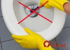3 najjednoduchšie triky, ako vyčistiť toaletu bez prostriedkov z obchodu