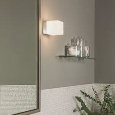 Bathroom Wall Light Fixtures Uk astro lighting compact chrome bathroom wall light fixture from www