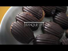 Banquete » Madeleines com Chocolate
