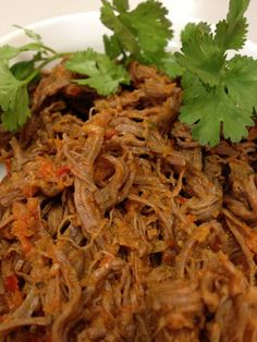 Carne mechada vegetariana   HazteVeg.com Yummy Recipes, Mexican Food Recipes, Vegetarian Recipes, Cooking Recipes, Healthy Recipes, Ethnic Recipes, Colombian Dishes, Colombian Food, Colombian Recipes