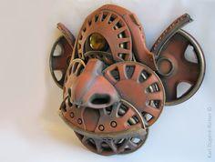 Cyclop sculpture by Karl Dupéré-Richer #cyclop #steampunk