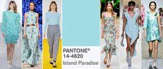 Kolory na wiosnę 2017: PANTONE 14-4620 Paradise Island