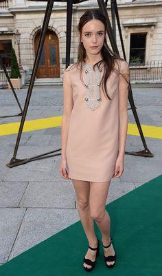 Dress du Jour: Stacy Martin Does Daytime Elegance in Miu Miu