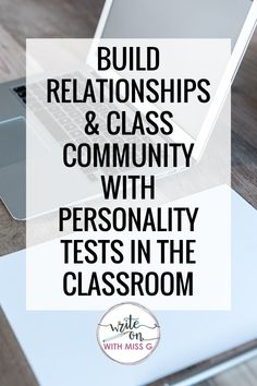 Why & how to use personality tests in the classroom. How to get to know your students, build class community, promote growth mindset & social-emotional learning, spark powerful discussions, and MORE with a personality test.   Back to school ideas   Back to school lessons   High school icebreakers   Get-to-know-you activities   1st Day Of School, High School, English Language, Language Arts, School Icebreakers, Leadership Classes, Building Classroom Community, English Lesson Plans, Personality Tests
