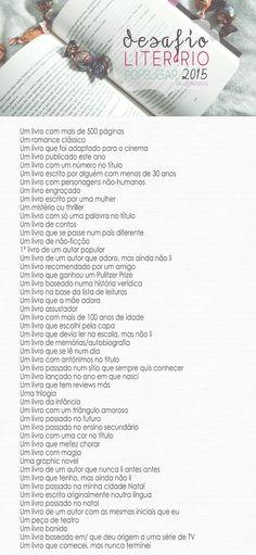 Desafio Literário PopSugar 2015 - Lemao Doce