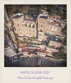 - NAPOLI 16 GENN  2014 -    il Parco Grifeo col Castello Aselmeyer