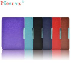 Del  Magnetic Slim Pu Leather Case Cover Pouch For kobo touch 6.0 inch eReader  Jun10 #Affiliate