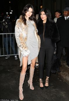 Looking grrreat! Kendall and Kylie Jenner proved they really are wild about fashion as the...