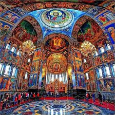 Church in Saint-Petersburg, Rússia