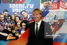 Twitter / figureskatingRu: Evgeny Plushenko at the Olympic ...