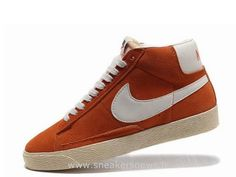low priced 9d941 5a74e Nike Blazer Vintage Suede homme Prime totale Orange-Blanc Nike Blazer Noir  Et Blanc Homme