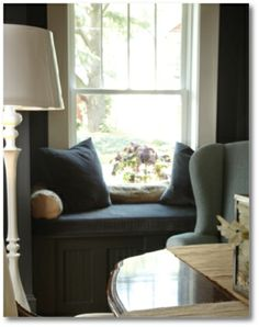 Window seat in French Eclectic design!