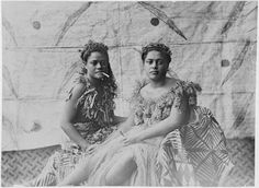 Samoan women in traditional dress, ca 1910s - Coming of Age in Samoa - Wikipedia, the free encyclopedia