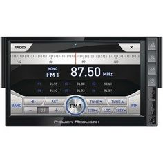 Power Acoustik PNX721 InDash 7 Ingenix Series LCD Touchscreen DVD Car Stereo Receiver w Bluetooth  USB iPod Control -- Continue to the product at the image link.