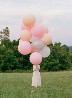 Balloons, pink