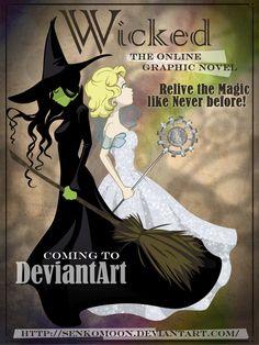 Wicked: A Graphic Novel by ~senkomoon on deviantART