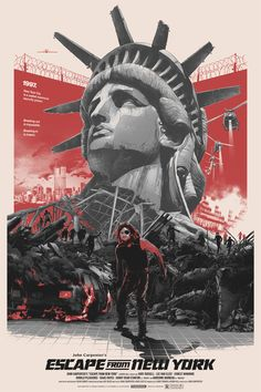 error888:  Escape from New York (1981) [1134x1701]: MoviePosterPorn