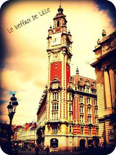 Le beffroi de Lille  #Lille #france #architecture