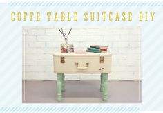 Suitcase Table - DIY instructions