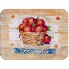 McGowan Tuftop Apple Basket Cutting Board Medium Kitchen is part of Country Home Accessories Cutting Boards Description Warranty Information Super strong tempered glass Virtually indestruc - Best Apple Crisp, Apple Crisp Recipes, Glass Kitchen, Kitchen Dining, Kitchen Cabinets, Betty Crocker Apple Crisp, Medium Kitchen, Apple Decorations, Kitchen Decorations